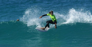 Girls dominate at Surf Competition