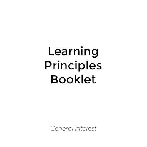 Learning Principles Booklet