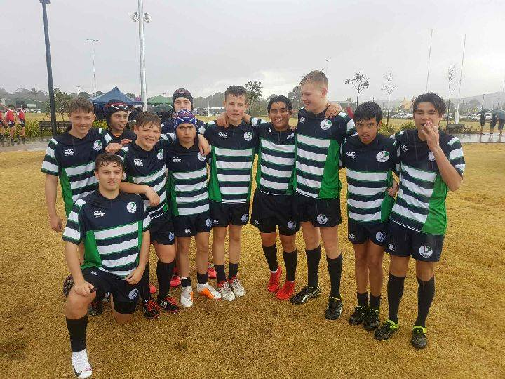 St Peter's Under 15 Rugby Team placed 3rd at Rugby 7's Gala Day