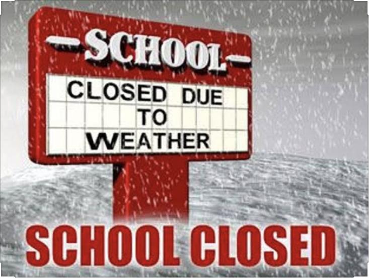 School Closure Monday 10 February