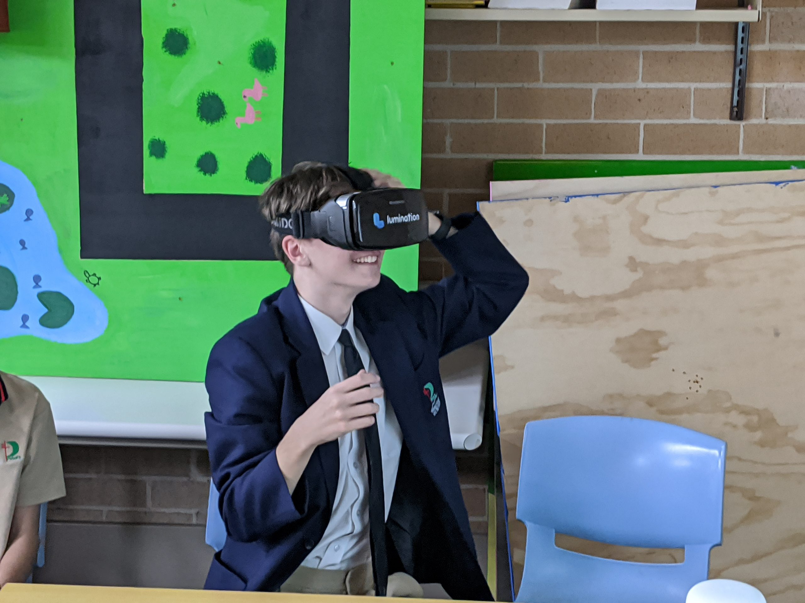 St Peter's steps into virtual reality