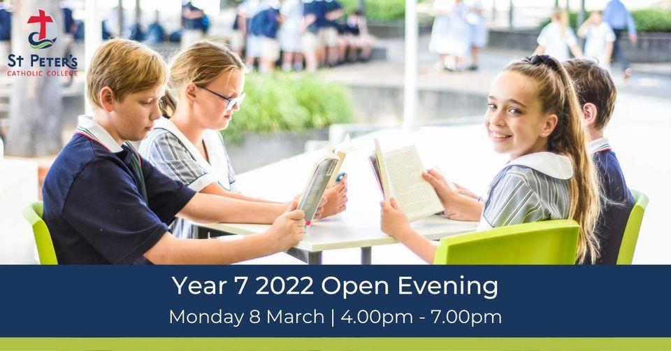 Year 7 2022 Open Evening