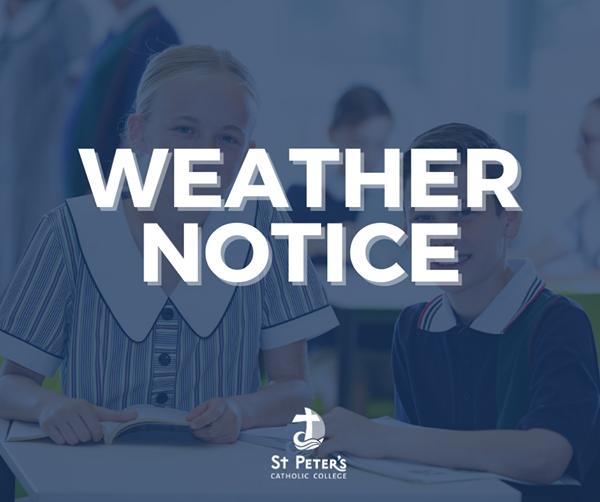 Wet Weather Notice