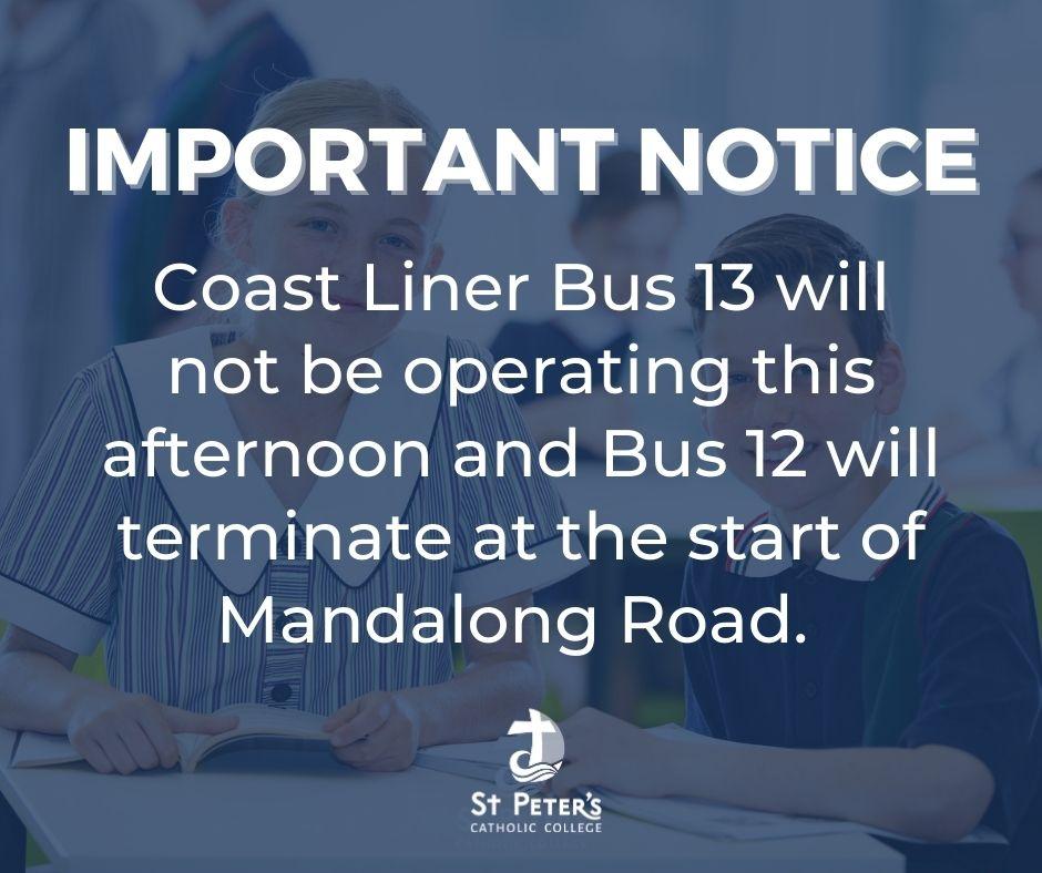 Coastal Liner Bus Update
