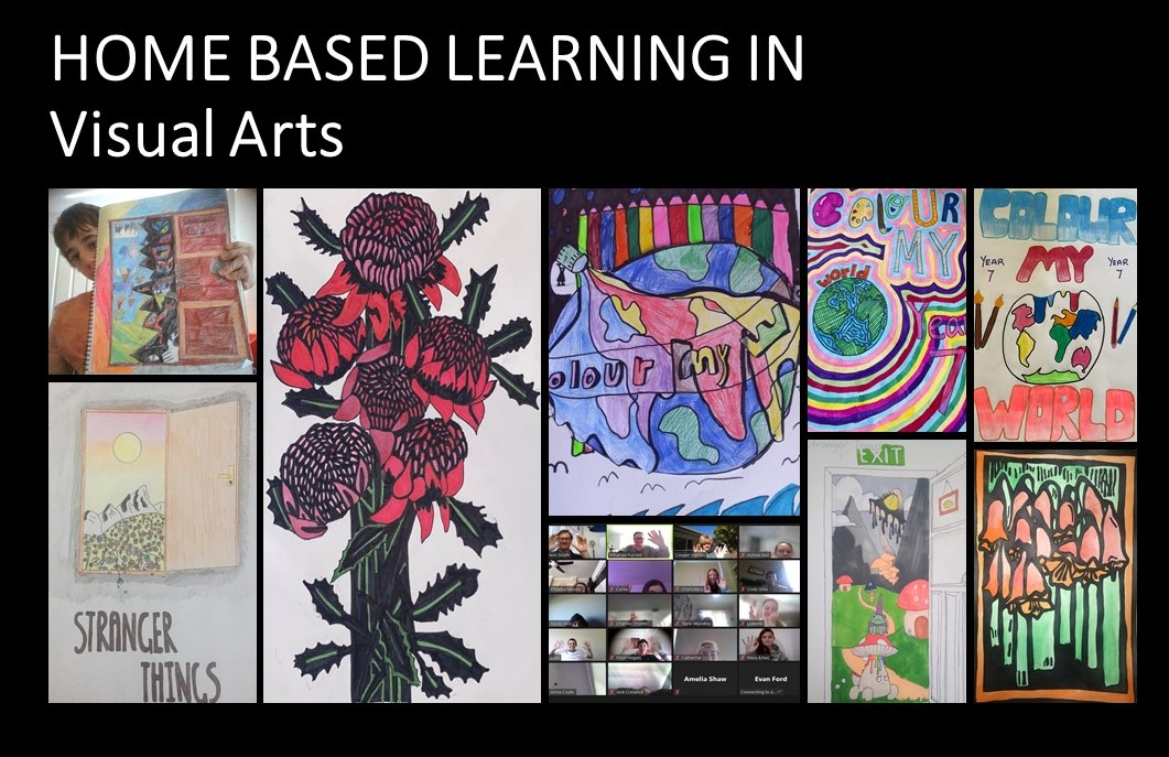 Home Based Learning in Visual Arts